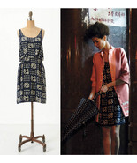 NEW 2011 Anthropologie Gameboard Silk Dress 2/X... - $69.99