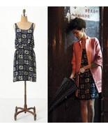 NEW 2011 Anthropologie Gameboard Silk Dress 4/S... - $89.99
