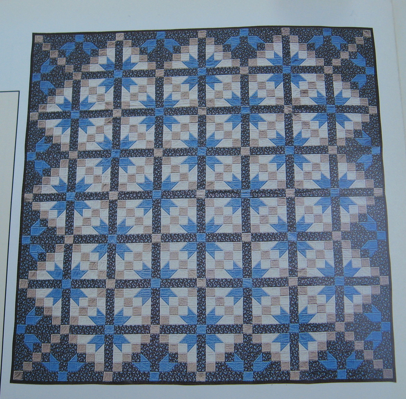 Road to Oklahoma, Quilt Pattern with Actual Size Templates