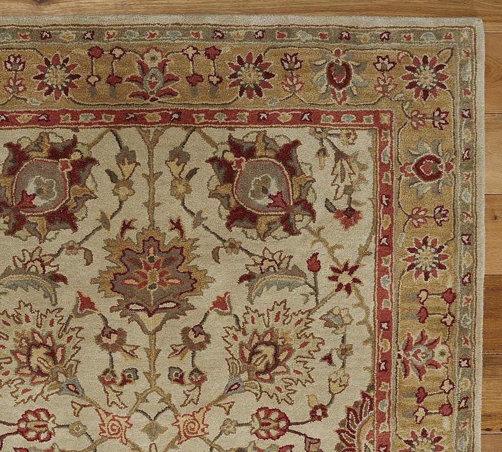 new pottery barn handmade persian brant area rug 8x10