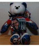 Obama Inauguration Day Beanie Bear - $8.00