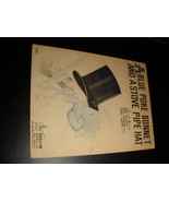 Sheet Music A Blue Poke Bonnet And A Stove Pipe Hat 1944 Eric Correa Leni Mason - $8.99