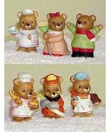 6 HOMCO Bears by Home Interior #5101 & 8820 - $8.99