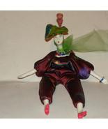 Doll Porcelain Bust Hands Feet Fabric Body Fill... - $18.00