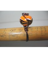 Retro Beautiful Handcrafted Ring 7 Gun Metal Co... - $9.00