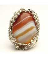Wire Wrap Berry Wire Red/White Sardonyx Sterlin... - $200.00