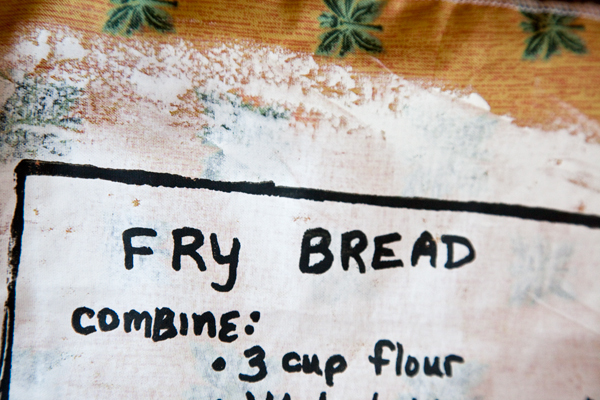 Bread Bag with Fry Bread Recipe