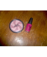 NEW Revlon Swirl Blush Frost and NYC Nail Polish Magenta Fla - $3.99