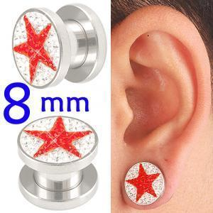 crystal tunnels 8mm ear stretcher kit piercing lot BBDT