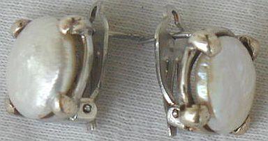 Massimo Ruaro white crysatl earrings