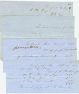 LOT 1850's SANFORD, MAINE Receipts for Candy, F... - $8.00