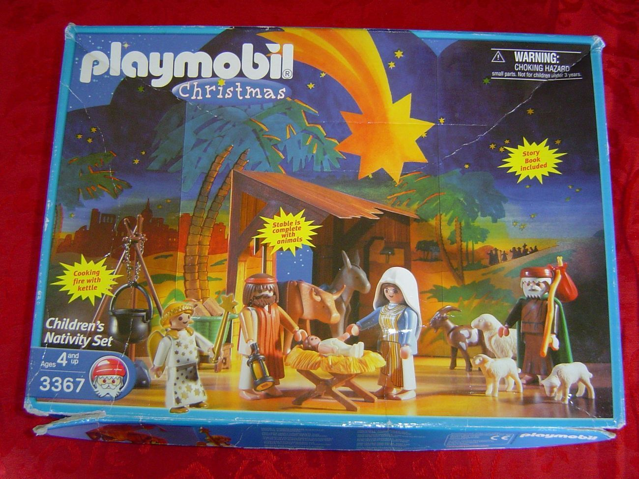 Playmobilenativitybox