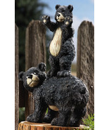Cub And Mother Bear Peeping Bears - $18.95
