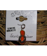 MARCASITE & STERLING SILVER CHARM by Jezlaine - $9.00