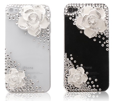 Handmade Iphone Case Cover Big  Flowers Case
