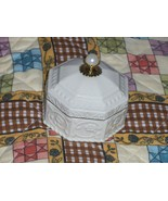 Lenox Trinket Box Holder Octagon Shaped - $12.97