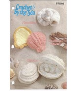 Crochet by the Sea Nautilus, Scallop Shell, Oys... - £12.98 GBP