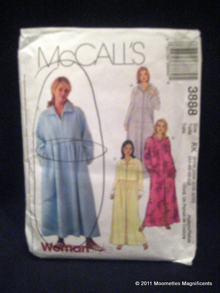 Vintage McCall's KK 3388 Fashion Women Bath Spa Robes Sewing Pattern 44 46 48 50