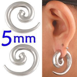 4g Steel Spiral Ear Plugs stretcher piercing kit BBHB