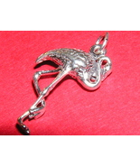 FLAMINGO CHARM in sterling silver - $8.00