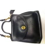 COACH VINTAGE BLACK SHOULDER BAG M5C 9983 - $43.99