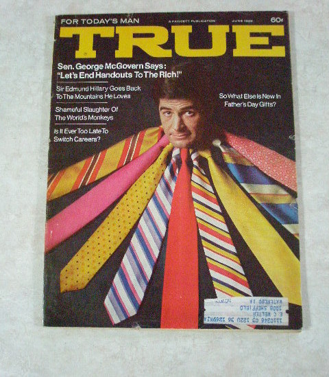 Vintage True Magazine for Todays Active Man June 1969