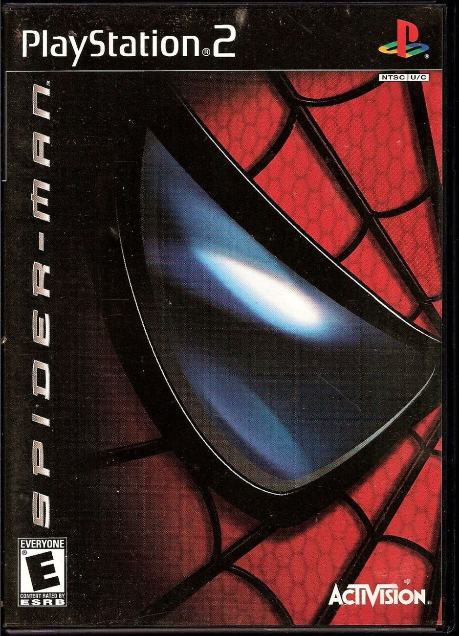 Spider-Man The Move PlayStation 2 video game 2002 Activision