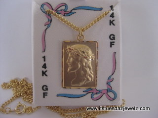 PRINCESS PRIDE Jesus Necklace