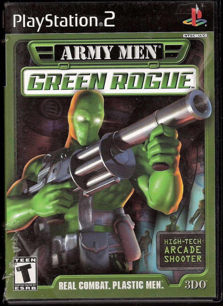 Army Men: Green Rogue PlayStation 2 video game 2001 by 3DO