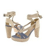 Stuart Weitzman Womens SZ 9.5 Espadrille Shoes ... - $59.00