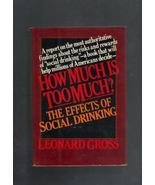 How Much is Too Much? The Effects of Social Dri... - $4.00
