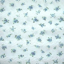 Vintage Quilted Cotton Knit Fabric Puckered Fab... - $30.00
