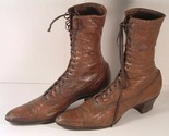 Boots Victorian Womens Vintage Lace Up Shoes Beacon - Ft Worth