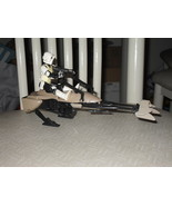 Vintage Star Wars 1983 Speeder Bike With Biker ... - $29.99