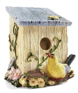 Country Birdhouse Shaped Decorative Trash Bin - $18.95
