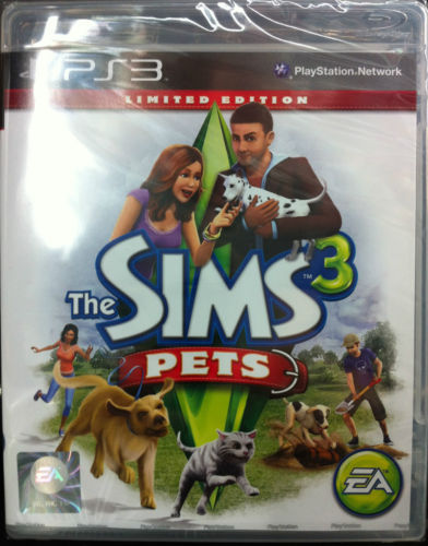 The Sims 3 Pets: Limited Edition, PS3 game