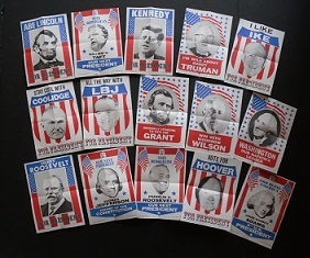 Complete Set of Topps U.S. Presidents Mini Posters