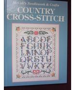 Country Cross Stitch Hardback Patterns by McCal... - $13.99