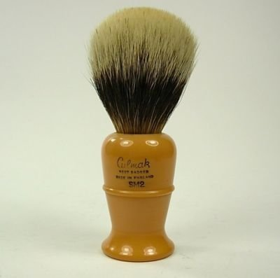 CULMAK SM2 Bakelite Badger Hair Shaving Brush, England,Excellent Condition