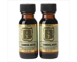 Sandalwood Scent Home Fragrance Oils Set of 2