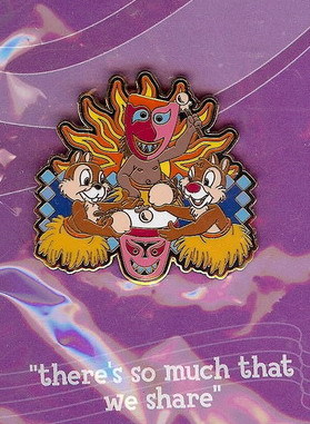 Disneyana 2000 Small World Chip & Dale  #5 pin/pins