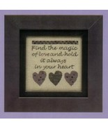The Magic of Love cross stitch chart Twisted Threads - $3.50