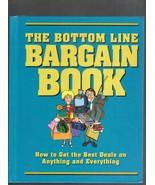 The Bottom Line Bargain Book, Hardcover, 2000, ... - $7.00