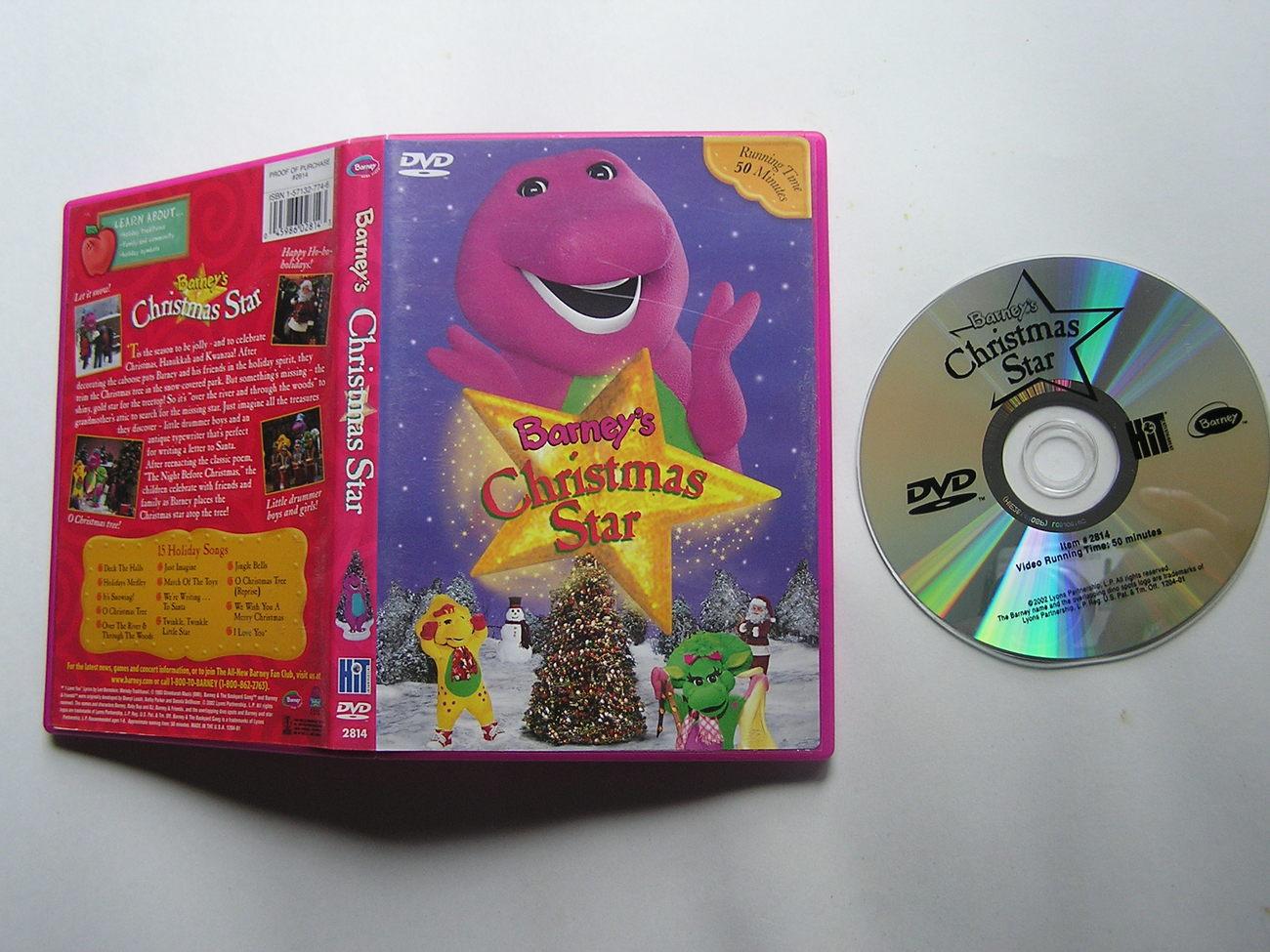 Barney\'s Christmas Star Dvd Empire