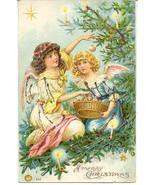 Merry Christmas 1906 German Post Card - $6.00