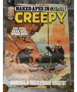 Creepy #95 Monster Magazine Poster 1977 - £15.71 GBP