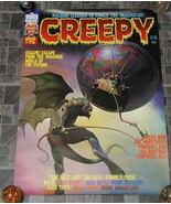 Creepy #75 Monster Magazine Poster 1976 - £15.79 GBP