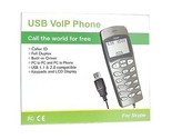 Buy VoIP/Skype USB Phone with LCD Display (Black)
