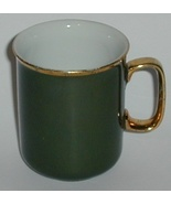 1950 JKW Bavaria Porcelain China Green Gold Tri... - $5.00