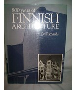 Eight-Hundred Years of Finnish Architecture by ... - $24.74
